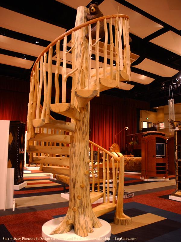 Деревянные резные винтовые лестницы своими руками 83