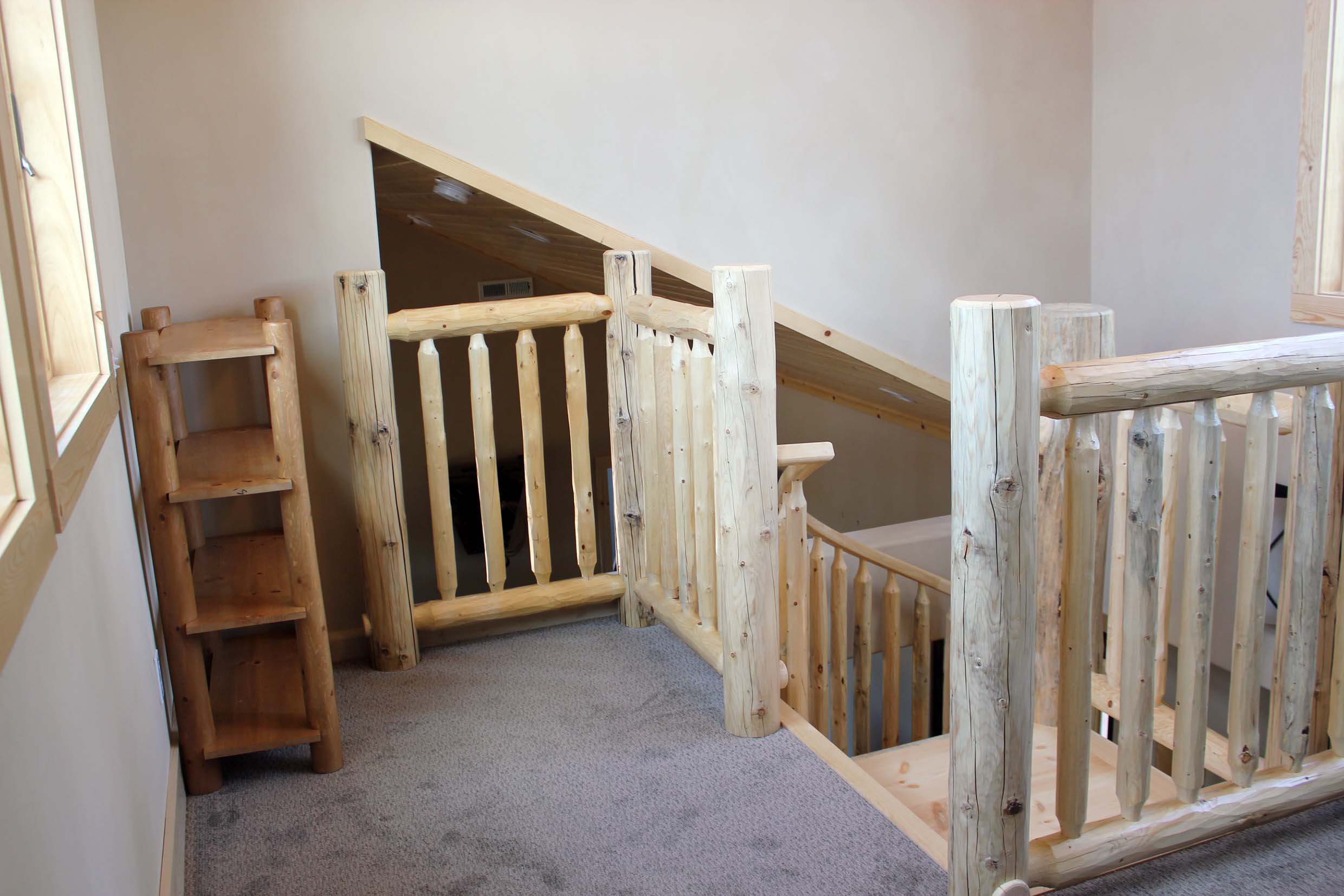 Custom Log Spiral Stairs · [click To View Full Size]